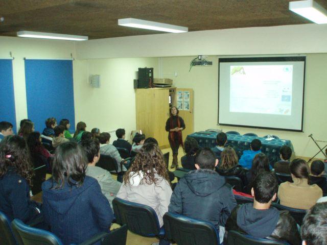 Acção na Escola de Santa Catarina da Serra