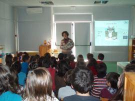 Acção na Escola EB 1º Ciclo de Vale do Sumo