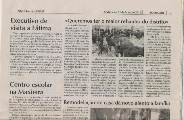 Notícias de Ourém - 11-05-2012